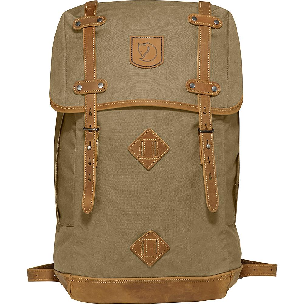 Fjallraven Rucksack No.21 Large Sand - Fjallraven Everyday Backpacks - Backpacks, Everyday Backpacks