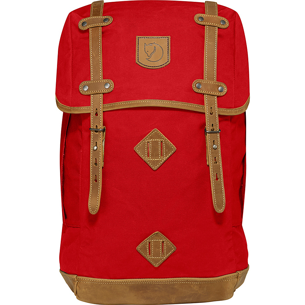 Fjallraven Rucksack No.21 Large Red - Fjallraven Everyday Backpacks - Backpacks, Everyday Backpacks