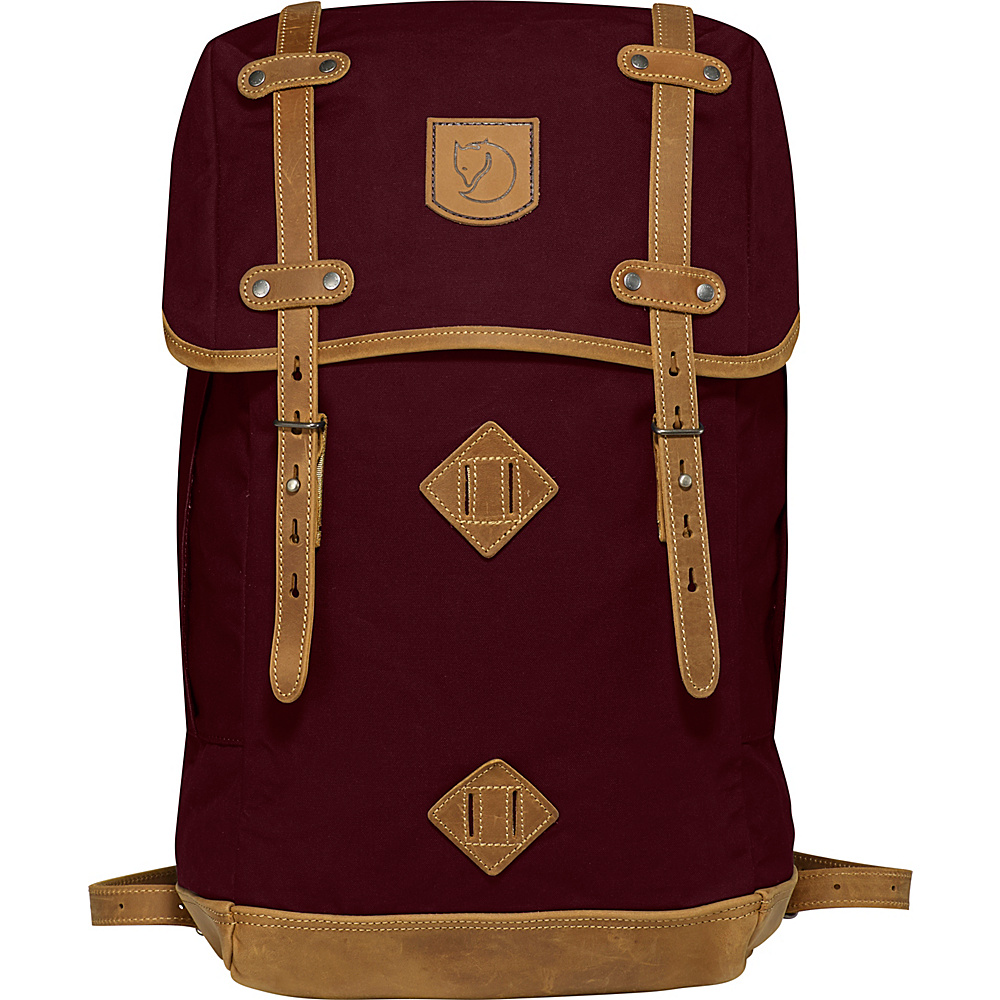Fjallraven Rucksack No.21 Large Dark Garnet - Fjallraven Everyday Backpacks - Backpacks, Everyday Backpacks