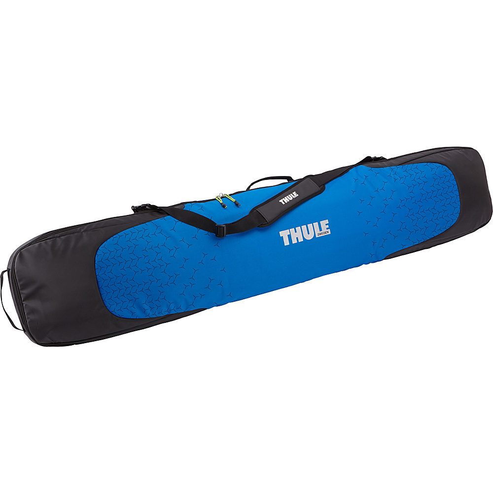 Thule Roundtrip Single Snowboard Carrier Black Cobalt Thule Ski and Snowboard Bags
