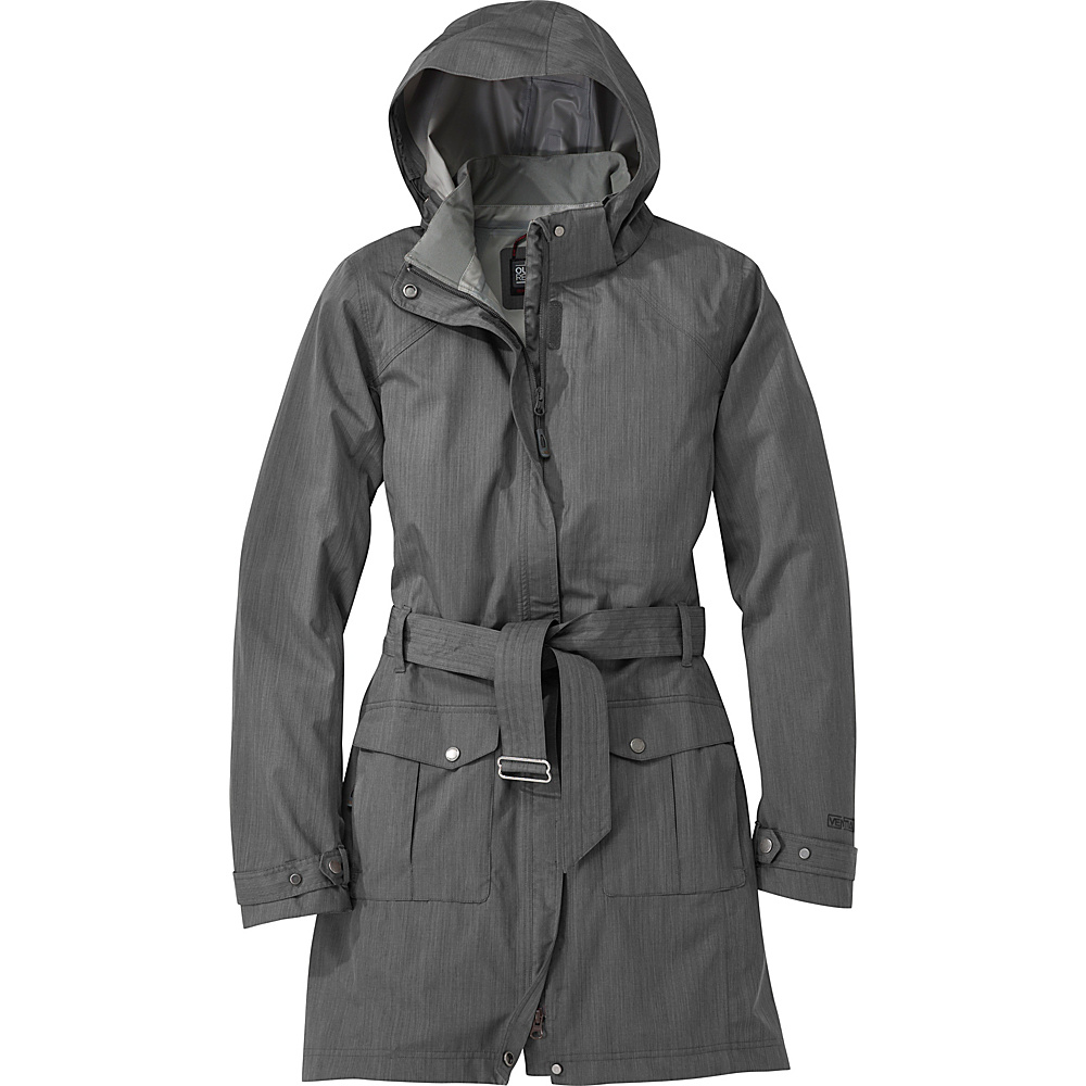 Outdoor Research Womens Envy Jacket L - Pewter - Outdoor Research Womens Apparel - Apparel & Footwear, Women's Apparel
