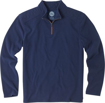 Life is good Mens Microfleece Pullover Darkest Blue - Extra Extra Large - Life is good Men's Apparel