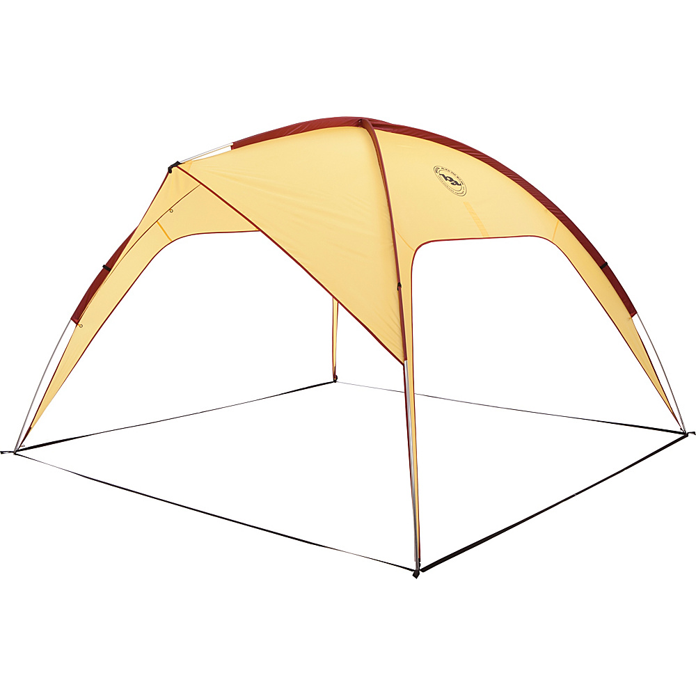 Big Agnes Three Forks Shelter Yellow Red Big Agnes Outdoor Accessories