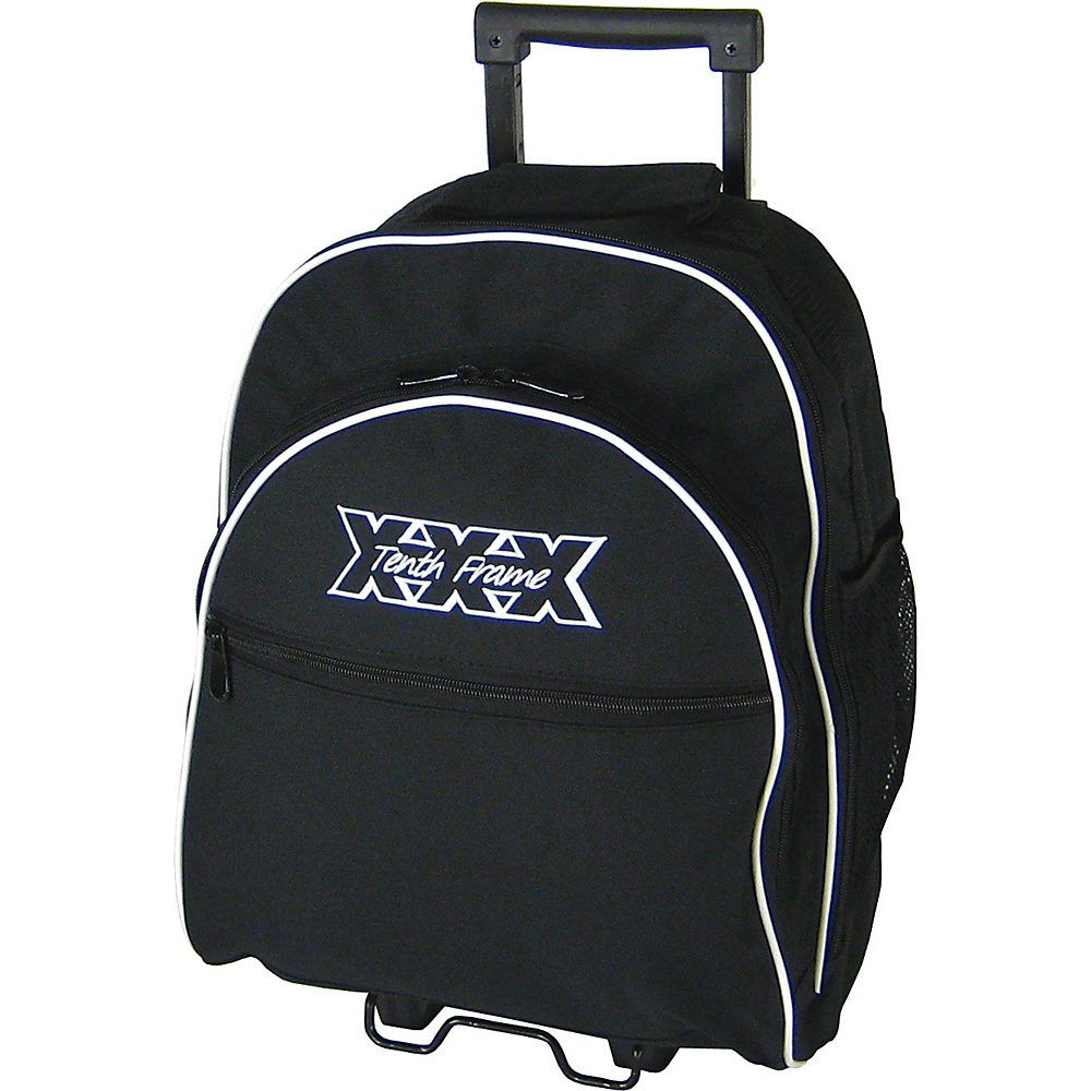 Tenth Frame Courage Single Roller Black - Tenth Frame Bowling Bags