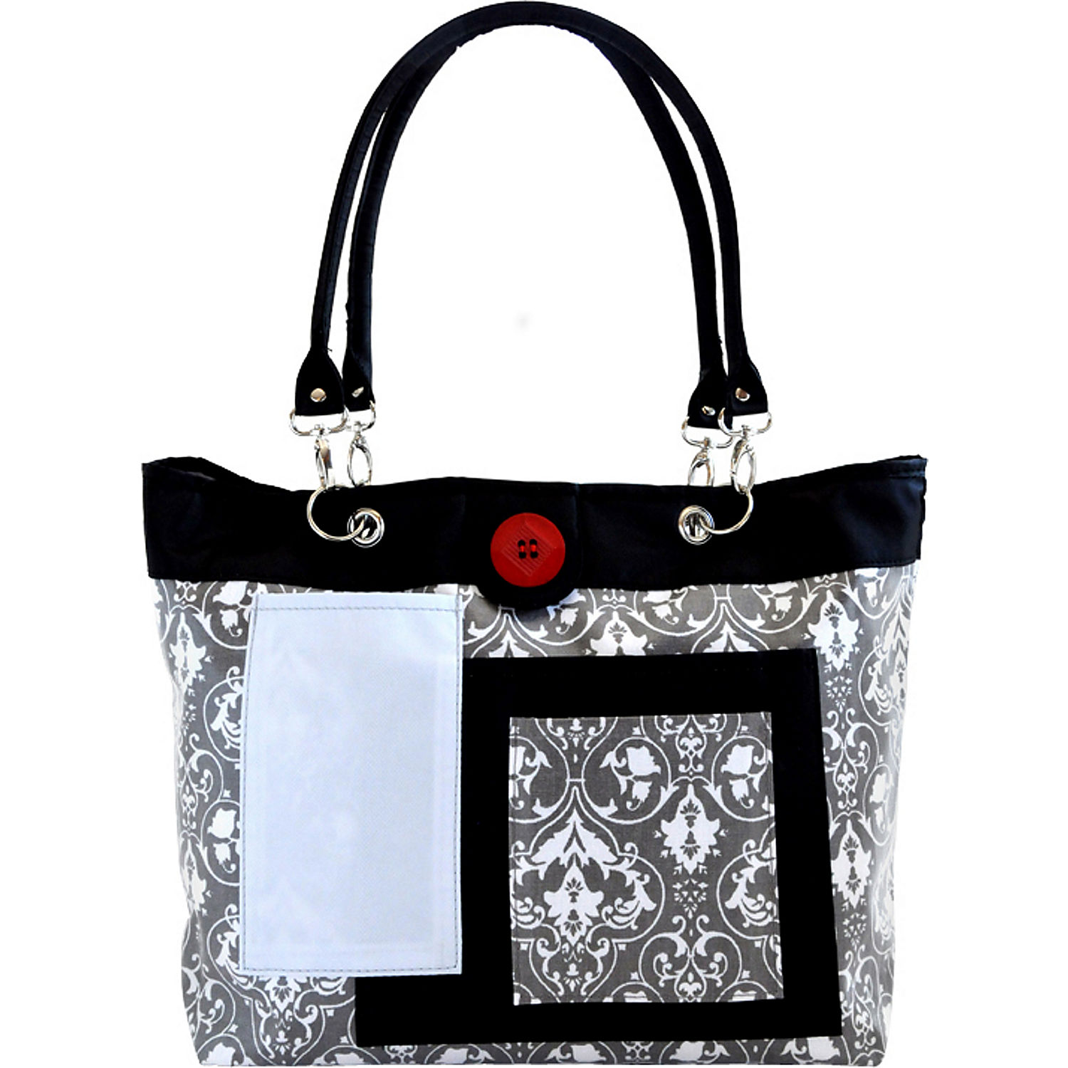 2 red hens rooster diaper bag. Black Bedroom Furniture Sets. Home Design Ideas