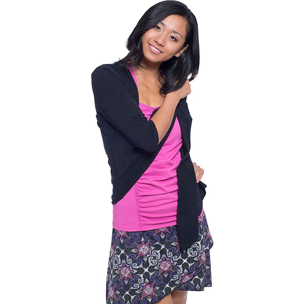 Soybu Meryl Wrap Shirt XS - Black - Soybu Womens Apparel - Apparel & Footwear, Women's Apparel