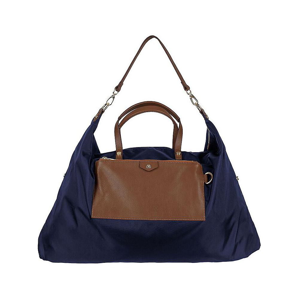 Boulevard Mila Hobo Navy - Boulevard Fabric Handbags