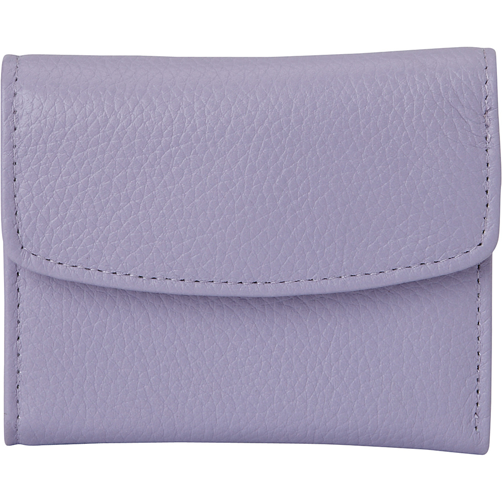 Buxton Hudson Pik-Me-Up Mini-Trifold Wisteria - Buxton Womens Wallets - Women's SLG, Women's Wallets
