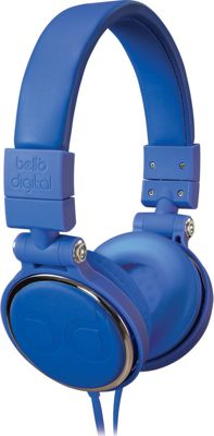 Image of Bell'O Digital 40mm Driver Over The Head Headphones Blues - Bell'O Digital Electronics