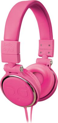 Image of Bell'O Digital 40mm Driver Over The Head Headphones Pinks - Bell'O Digital Electronics