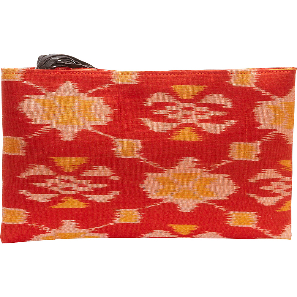 TLC you Ibu Clutch Orange Yellow TLC you Fabric Handbags