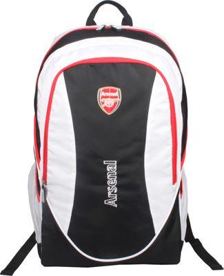 Image of Arsenal Team Team Backpack Black/White - Arsenal Team School & Day Hiking Backpacks