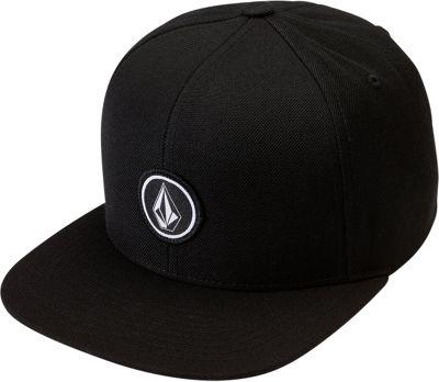Volcom Quarter Snapback Hat One Size - Black - Volcom Hats/Gloves/Scarves