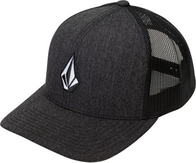 Volcom Full Stone Cheese One Size - Charcoal Heather - Volcom Hats/Gloves/Scarves