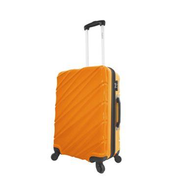 Mia Viaggi ITALY Burano 24 inch Hardside Spinner Orange - Mia Viaggi ITALY Hardside Checked