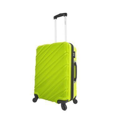 Mia Viaggi ITALY Burano 24 inch Hardside Spinner Green - Mia Viaggi ITALY Hardside Checked