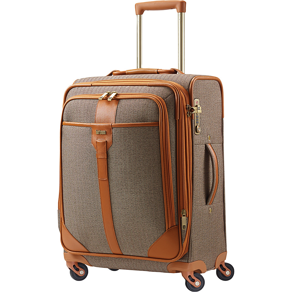 Hartmann Luggage Herringbone Luxe Softside Carry On