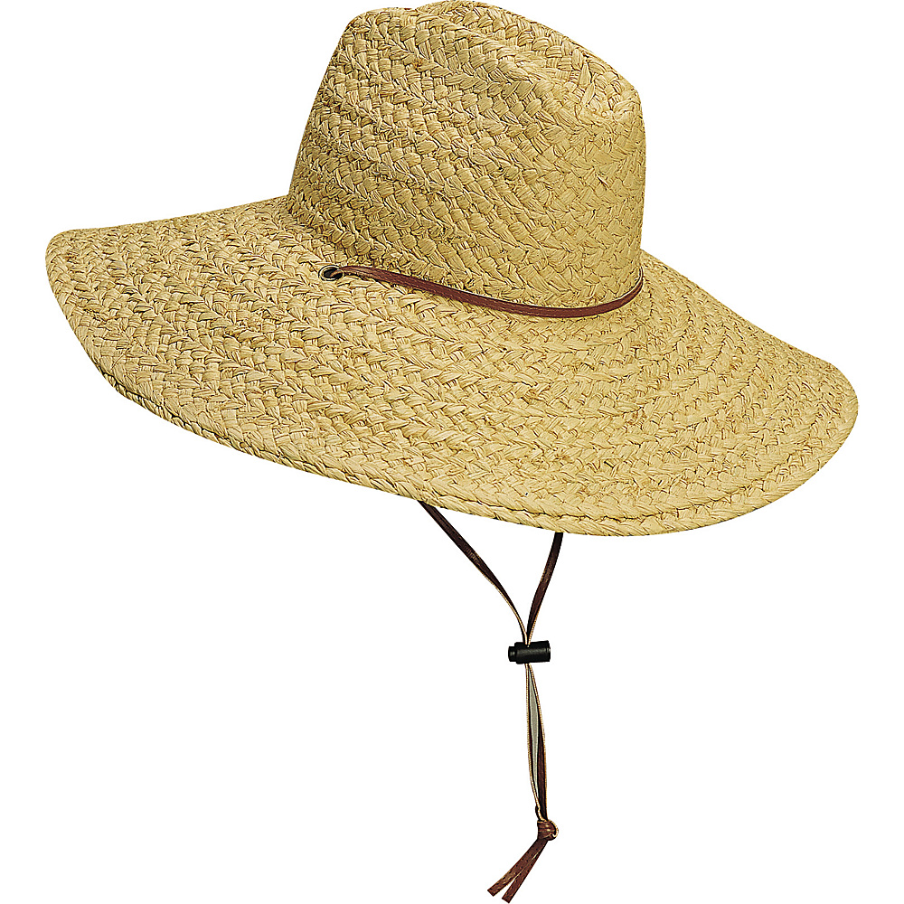 Scala Hats Raffia Lifeguard Hat Natural Large Extra Large Scala Hats Hats Gloves Scarves