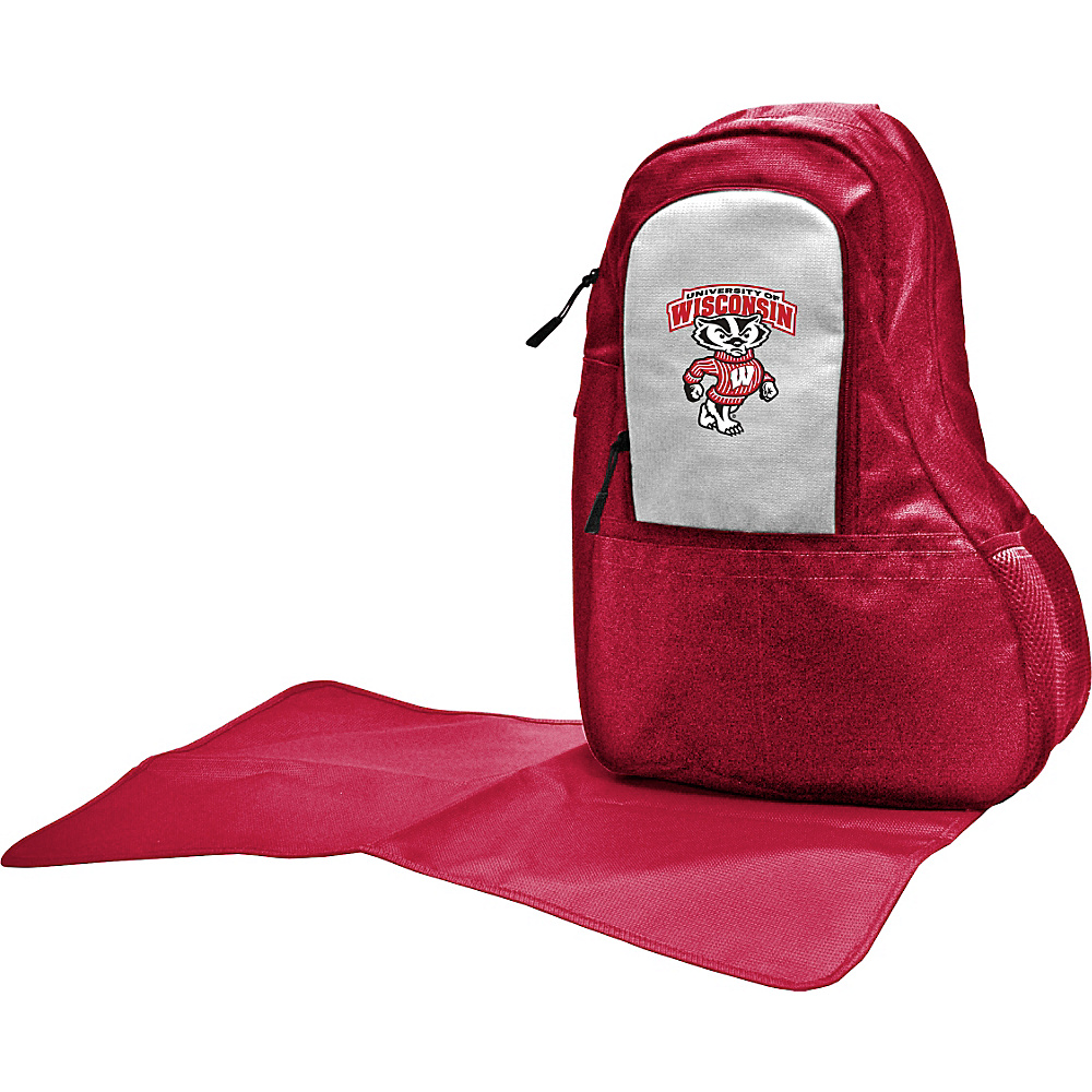 Lil Fan Big 10 Teams Sling Bag University of Wisconsin Lil Fan Diaper Bags Accessories