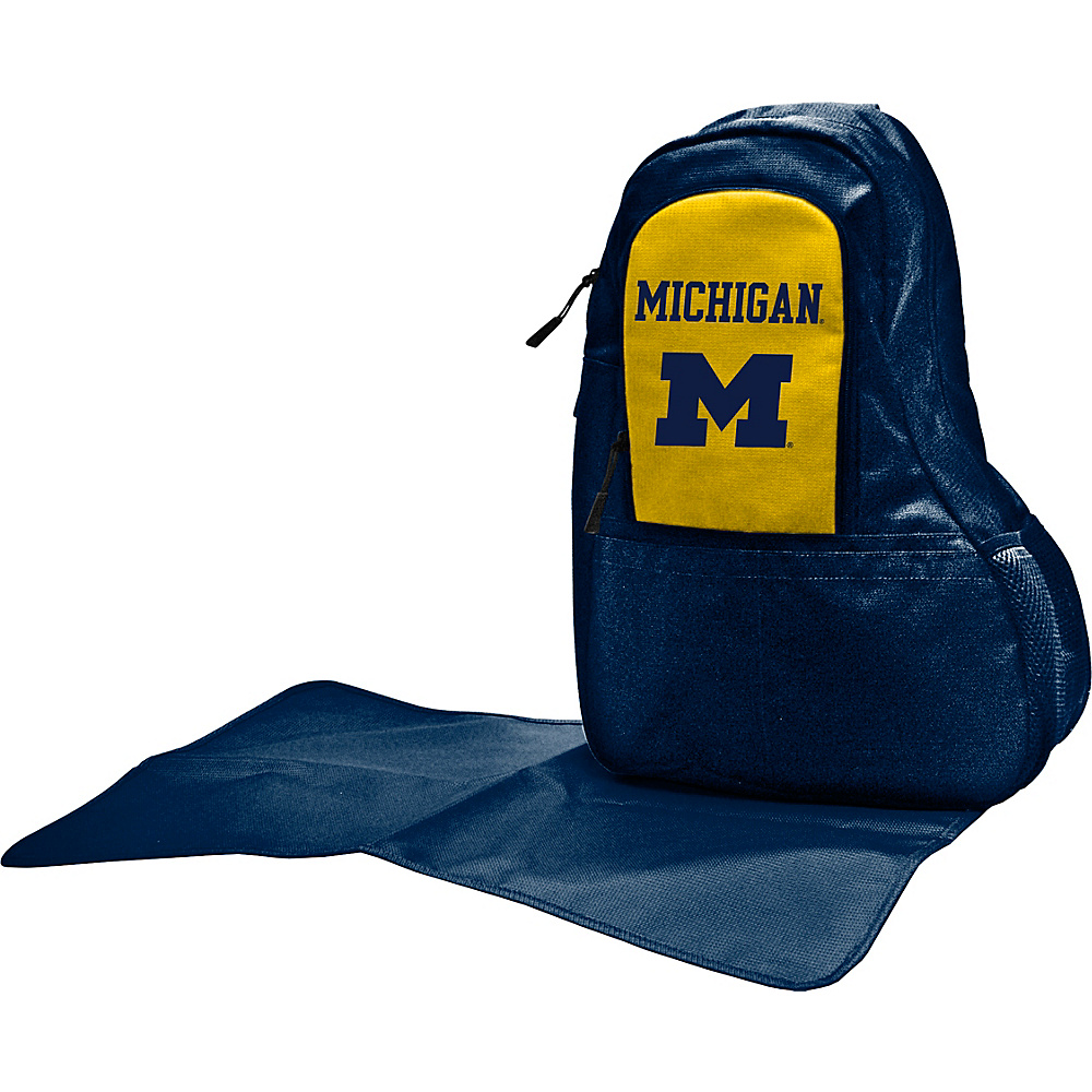 Lil Fan Big 10 Teams Sling Bag University of Michigan - Lil Fan Diaper Bags & Accessories