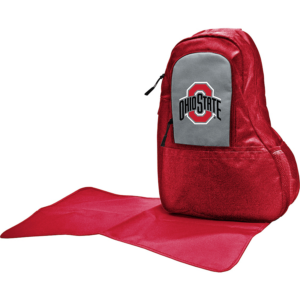 Lil Fan Big 10 Teams Sling Bag Ohio State University Lil Fan Diaper Bags Accessories