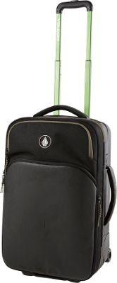 Volcom Daytripper Luggage Black - Volcom Softside Carry-On