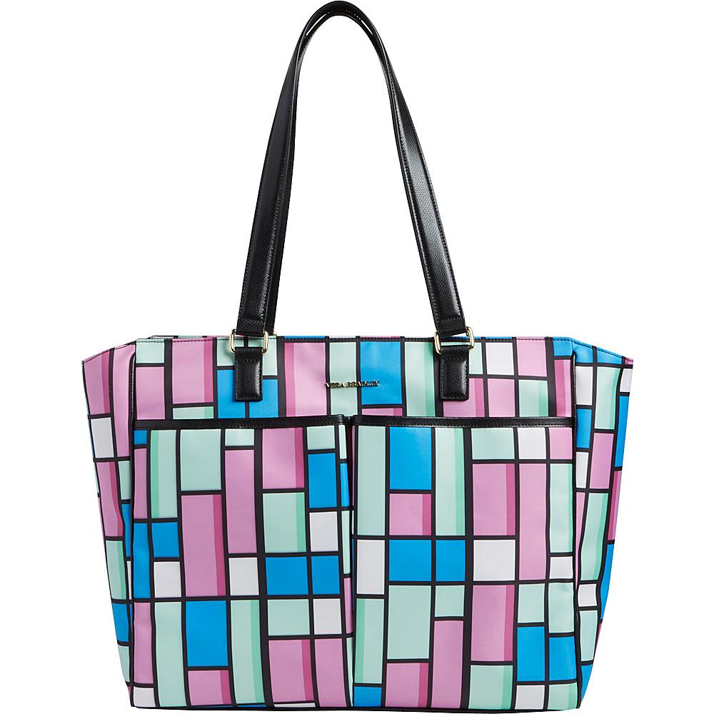 Vera Bradley Uptown Baby Bag Exotic Floral Grid With Black - Vera Bradley Diaper Bags & Accessories