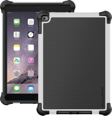 Image of Ballistic iPad Air 2 Tough Jacket Case Black/White - Ballistic Laptop Sleeves