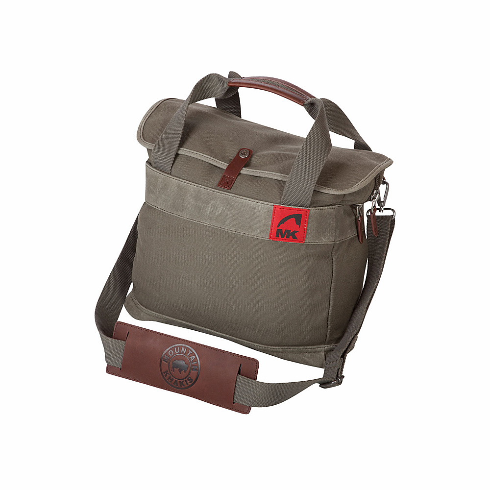 Mountain Khakis Canvas Briefcase Dark Olive - Mountain Khakis Non-Wheeled Business Cases