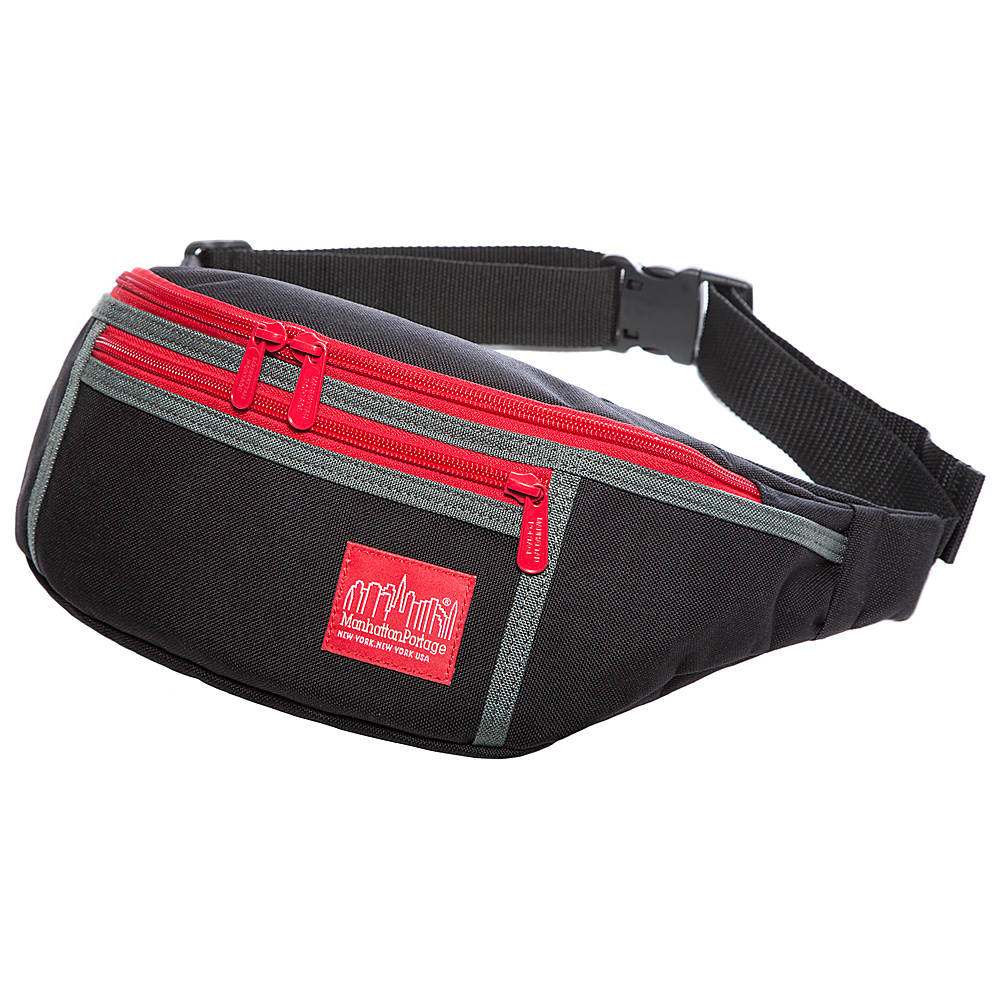 Manhattan Portage 80s Alleycat Waist Bag Black - Manhattan Portage Waist Packs - Backpacks, Waist Packs