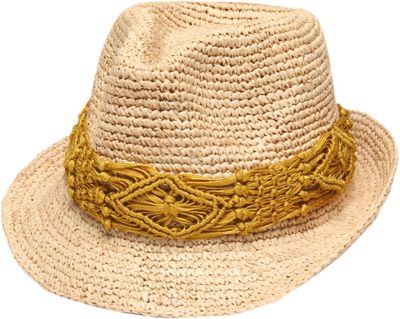 Physician Endorsed Malia Hat One Size - Natural/Mustard - Physician Endorsed Hats/Gloves/Scarves