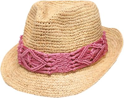 Physician Endorsed Malia Hat One Size - Natural/Pink - Physician Endorsed Hats/Gloves/Scarves