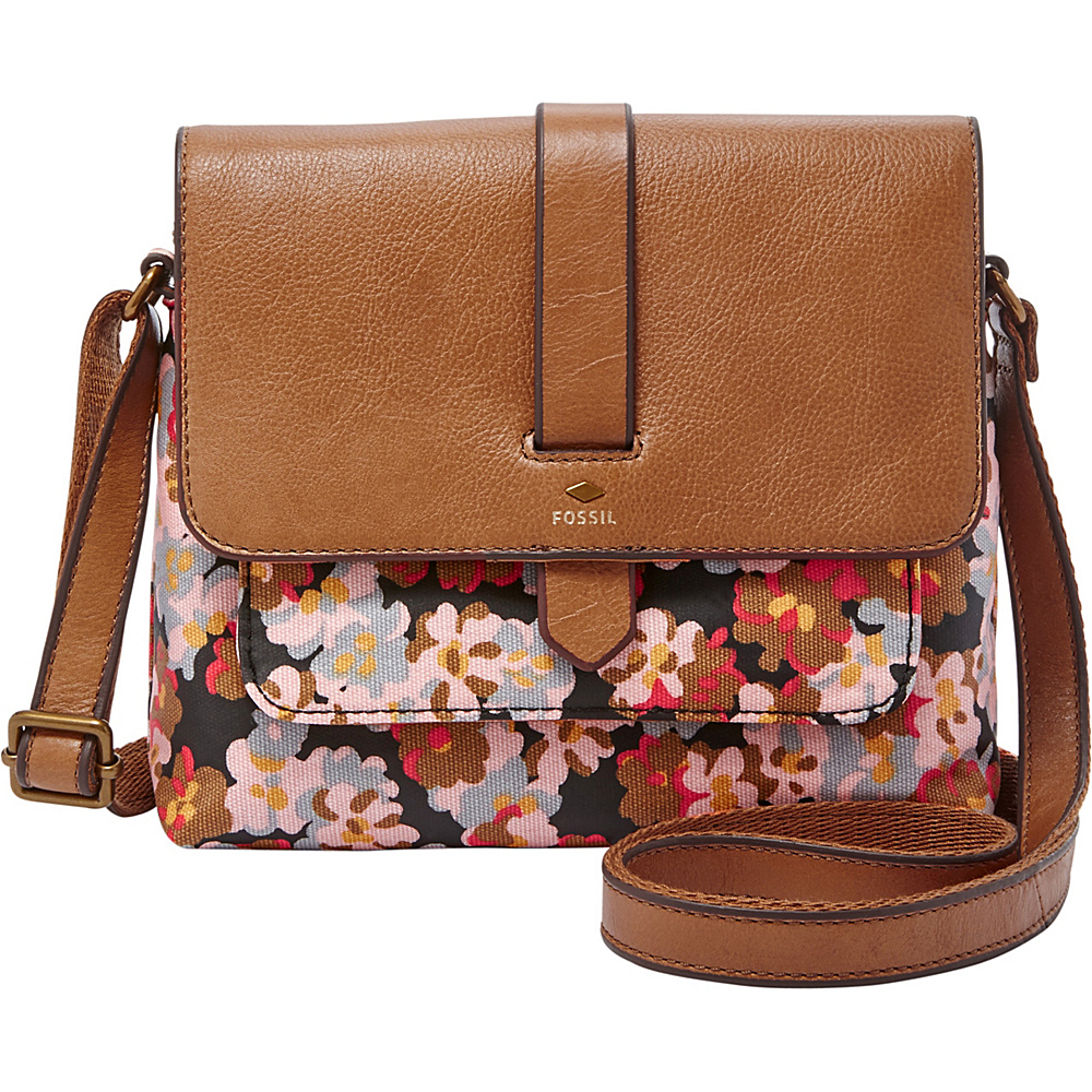 80a049ed66 The most competitive prices for Handbags, Bags, Totes, Shoulder Bags,  Travel Bags, Briefcases, Clutches, and more! Fossil Kinley Small Crossbody  Dark Floral ...