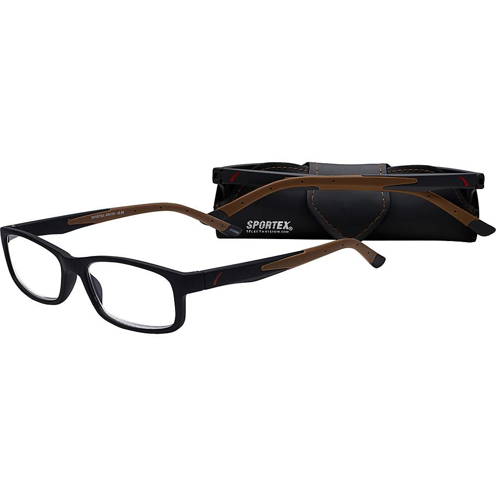 Select A Vision SportexAR Reading Glasses 2.75 Brown DISC Select A Vision Sunglasses