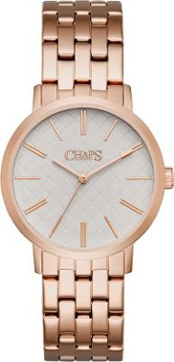 Chaps Whitney Gold-Tone Three-Hand Watch Rose Gold - Chaps Watches