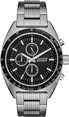 Chaps Rockton Stainless-Steel Chronograph Watch Silver - Chaps Watches