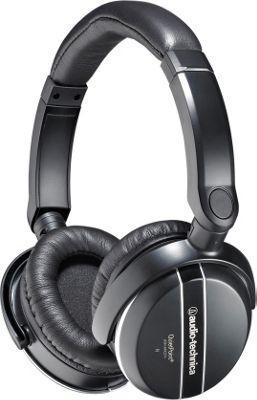 Audio Technica QuietPoint Active Noise-Cancelling Headphones Black - Audio Technica Headphones & Speakers 10411338