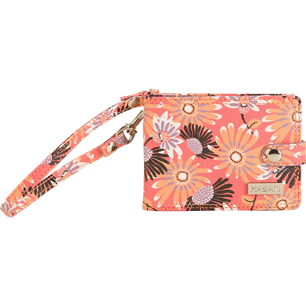 Hadaki Vegan Leather E Wallet Daisies - Hadaki Womens Wallets - Women's SLG, Women's Wallets