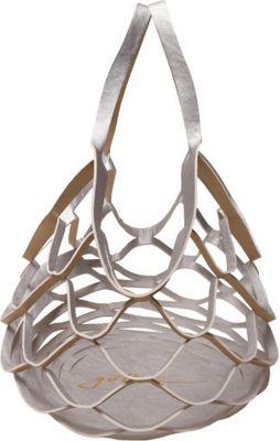 Gottex Pina Colada Reversible Tote Gold/Silver - Gottex Manmade Handbags
