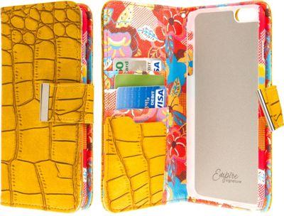 EMPIRE KLIX Klutch Designer Wallet Cases Apple iPhone 6 Plus / iPhone 6S Plus Vintage Flower Pop! - EMPIRE Electronic Cases
