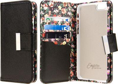 EMPIRE KLIX Klutch Designer Wallet Cases Apple iPhone 6 Plus / iPhone 6S Plus Vintage Floral - EMPIRE Electronic Cases