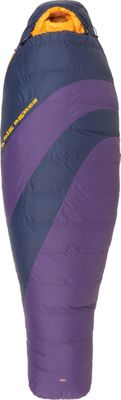 Big Agnes Mirror Lake 20 600 DownTek Sleeping Bag Grape / Navy  -  Petite Right  -  Big Agnes Outdoor Accessories