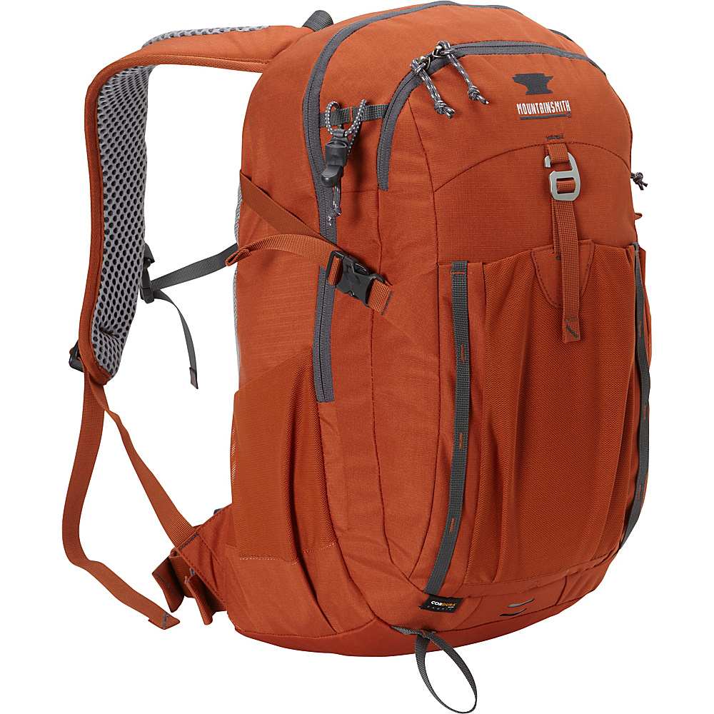 Mountainsmith Approach 25 Hiking Backpack Burnt Ochre Mountainsmith Day Hiking Backpacks