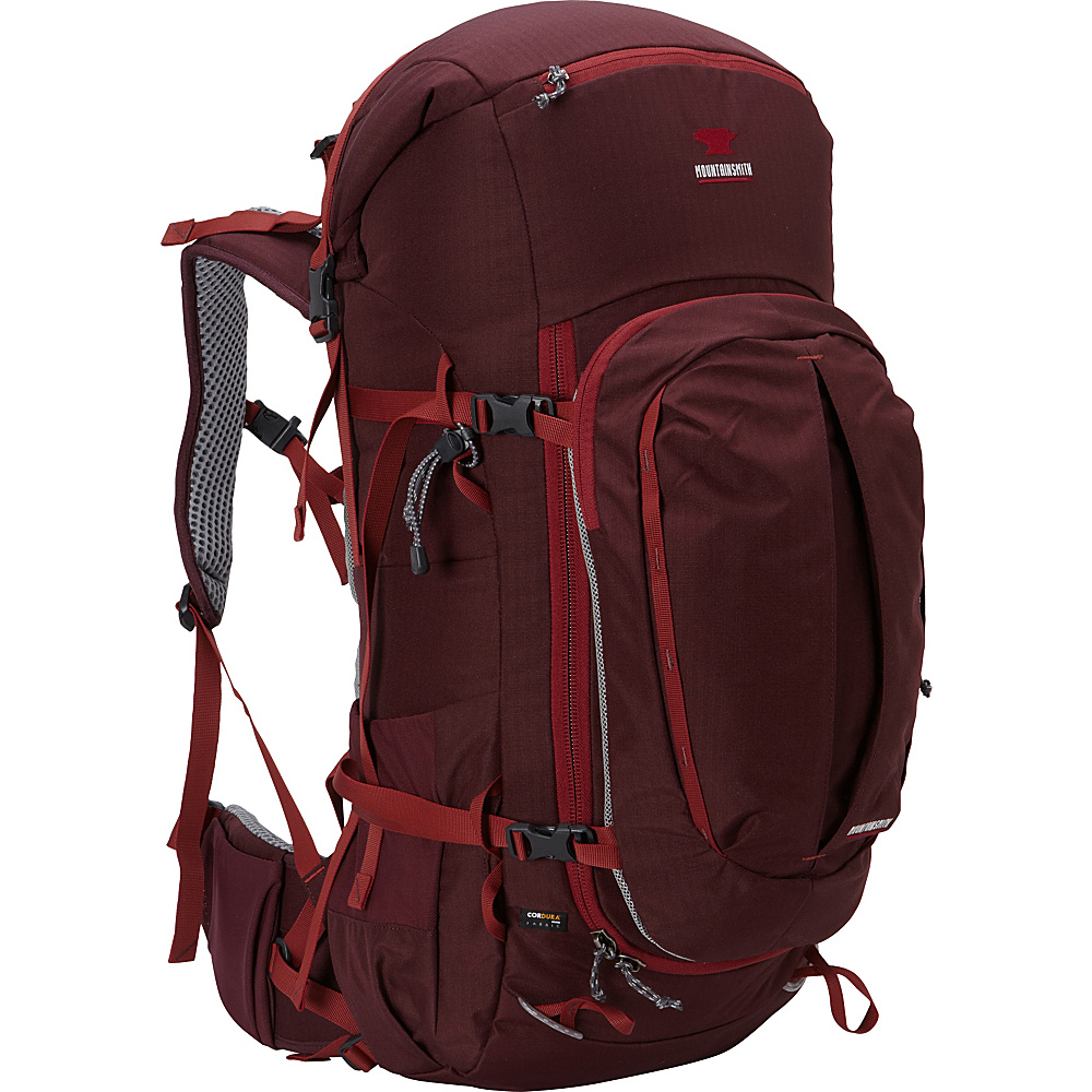 Mountainsmith Lariat 55 Womens Hiking Backpack Huckleberry Mountainsmith Day Hiking Backpacks