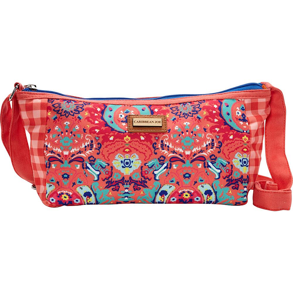 Sun 'N' Sand Seaside Damask Crossbody Pink - Sun 'N' Sand Fabric Handbags