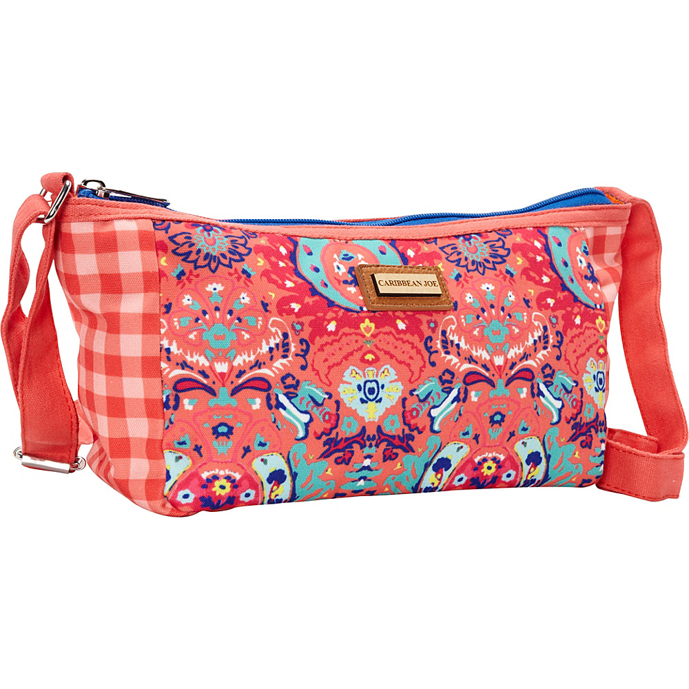 Sun 'N' Sand Seaside Damask Crossbody Pink - Sun 'N' Sand Fabric Handbags