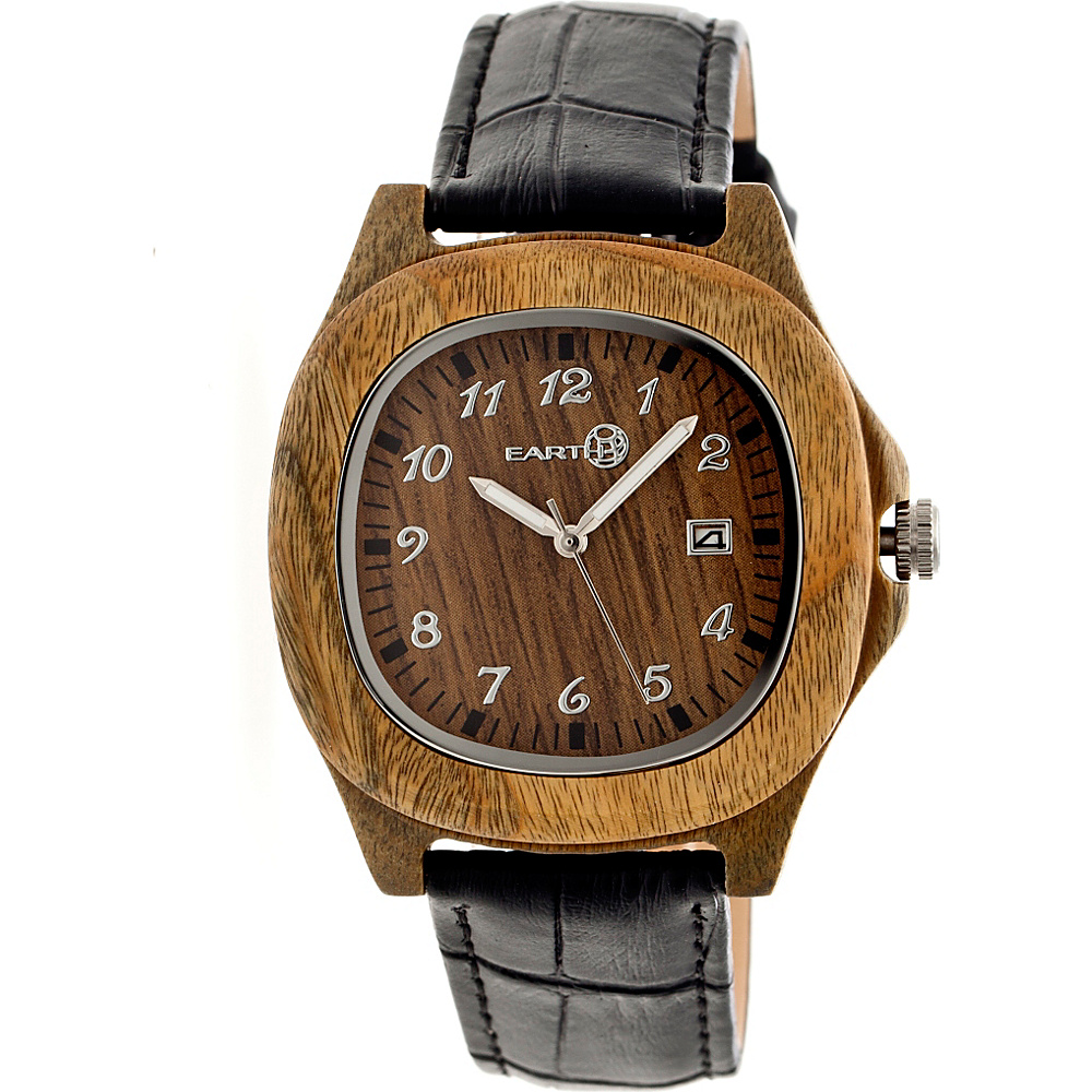 Earth Wood Sherwood Strap Unisex Watch Olive Earth Wood Watches