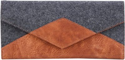 Something Strong Tri Fold Carrying Case Grey/Brown - Something Strong Men's Wallets