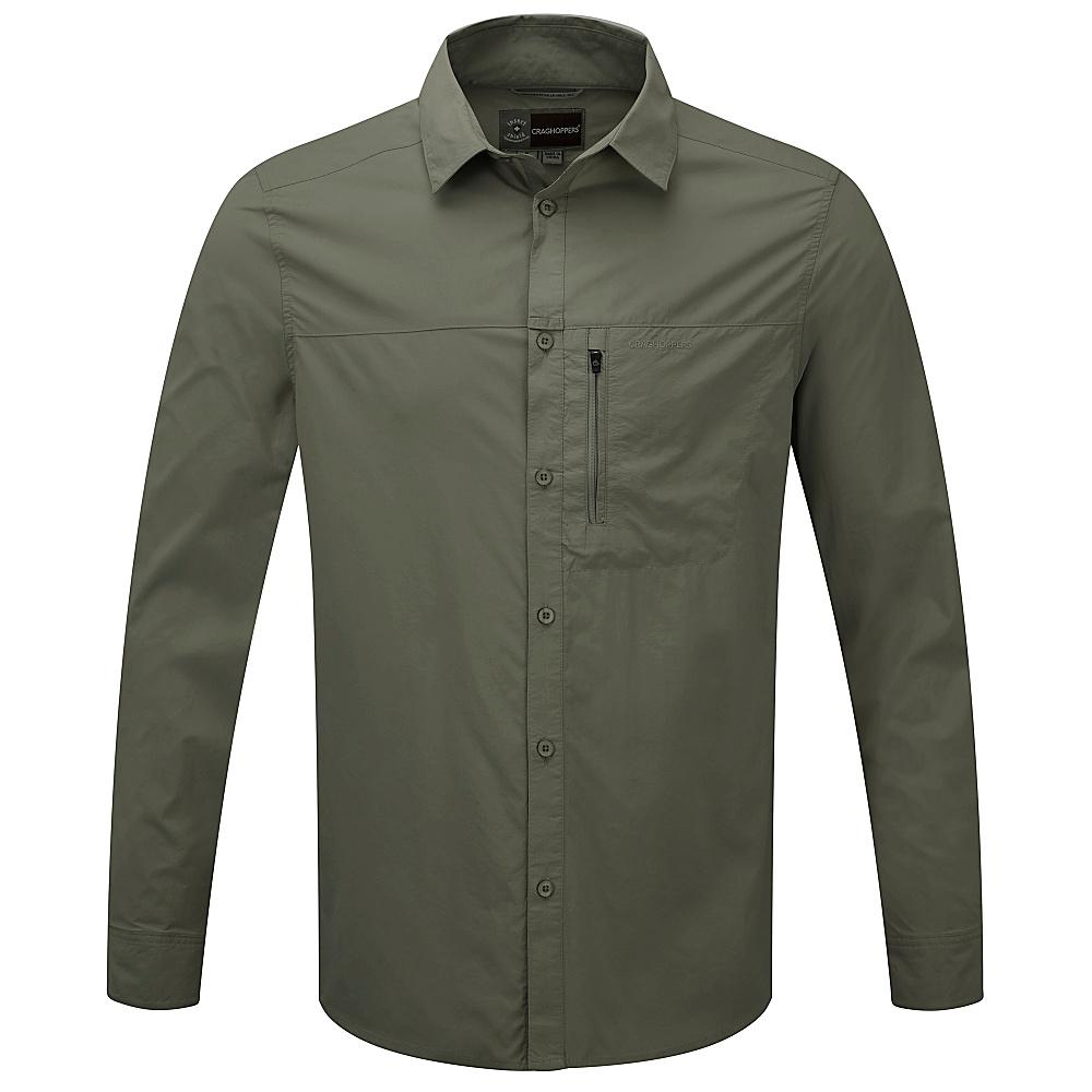 Craghoppers Nat Geo Kiwi Prolite L S Shirt S Olive Drab Craghoppers Men s Apparel