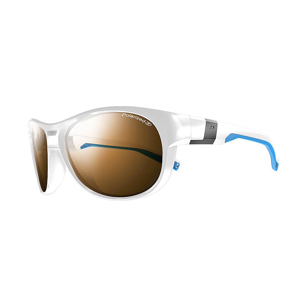 Julbo Shore With Polarized Lens White Blue Julbo Sunglasses